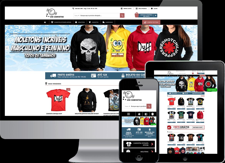 Resultado de imagem para loja virtual de camisetas